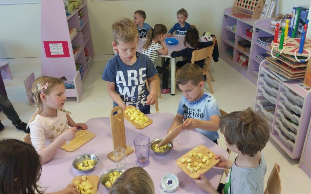 Zdrava prehrana – projekt sportske skupine DV Lojtrica