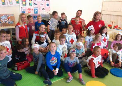 Djelatnici Crvenog križa u našem vrtiću