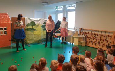 Djecu našeg vrtića razveselile kazališne predstave