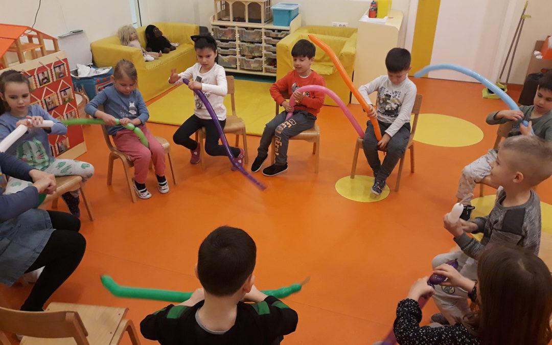 Igraonica za potencijalno darovitu djecu